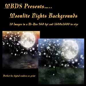 '92s Moonlite Nights Backgrounds [Exclusive]