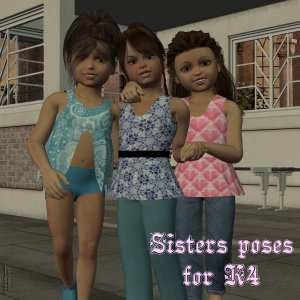 Sisters Poses: K4 - Exclusive