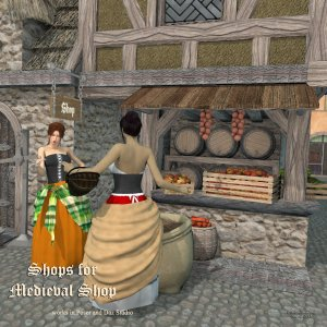 Shops for Medieval Shop - Exclusive
