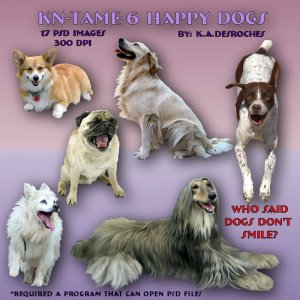 Tame Happy Dogs *Exc*