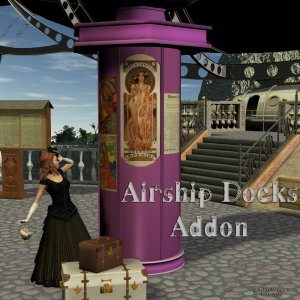 Airship Docks Add-on Exclusive