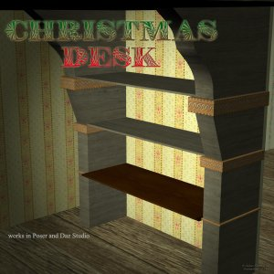 Christmas Desk - Exclusive