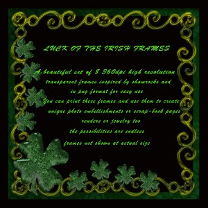 Luck of the Irish Digital Frames MR Kit *Exclusive*