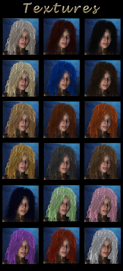 Lilith Hair V4/M4 Exclusive - Click Image to Close